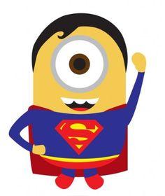236x280 Minion Superhero Clipart