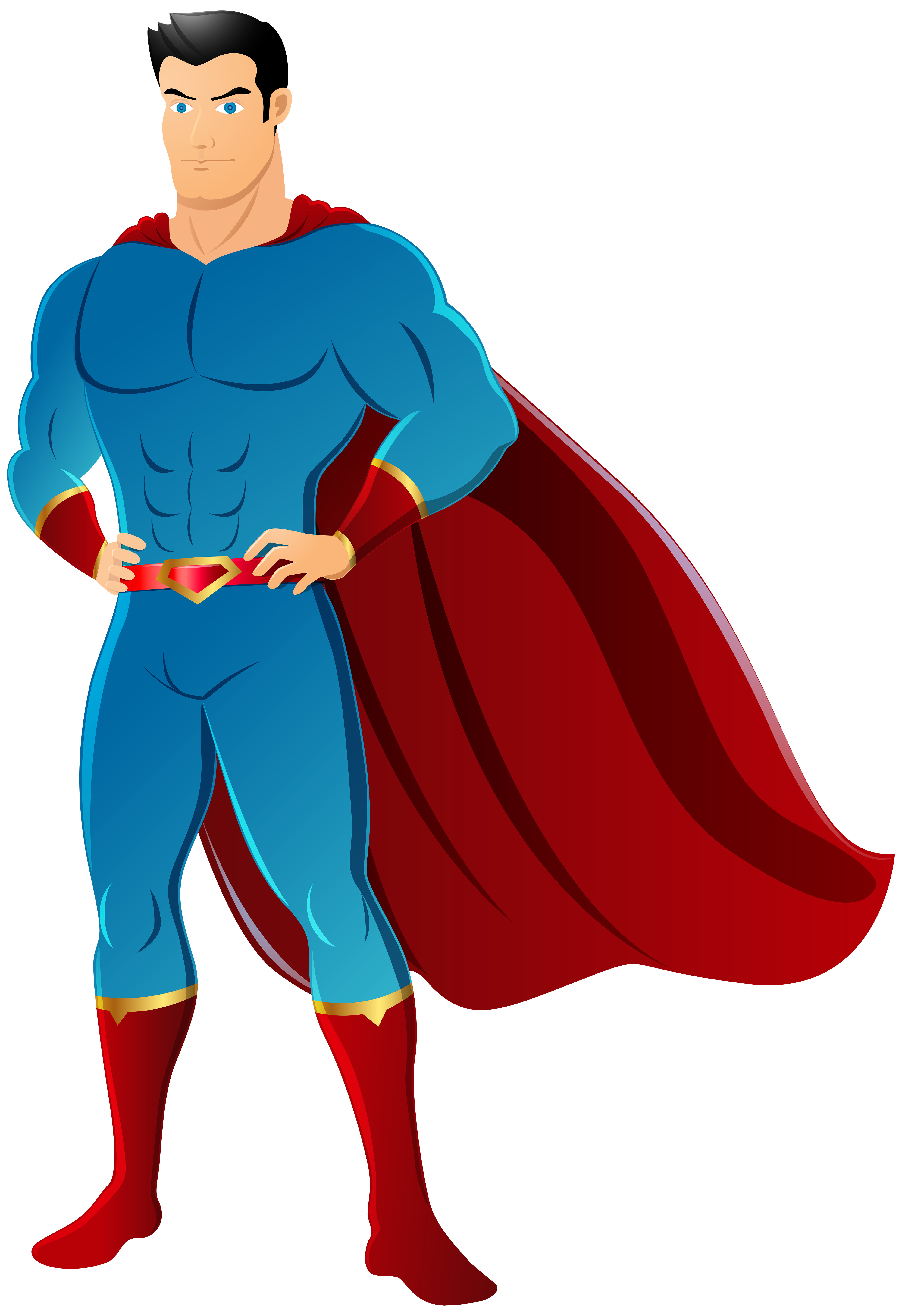 4798x7000 Super Hero Clipart Clear Background
