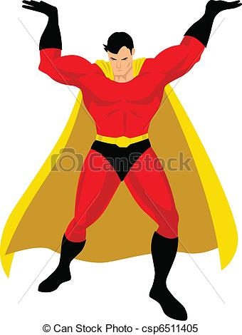 340x470 Superhero In Atlas Pose.