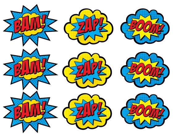 570x440 Superhero Clip Art