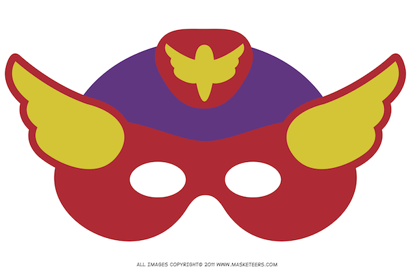 600x395 Superhero Mask Clipart Panda
