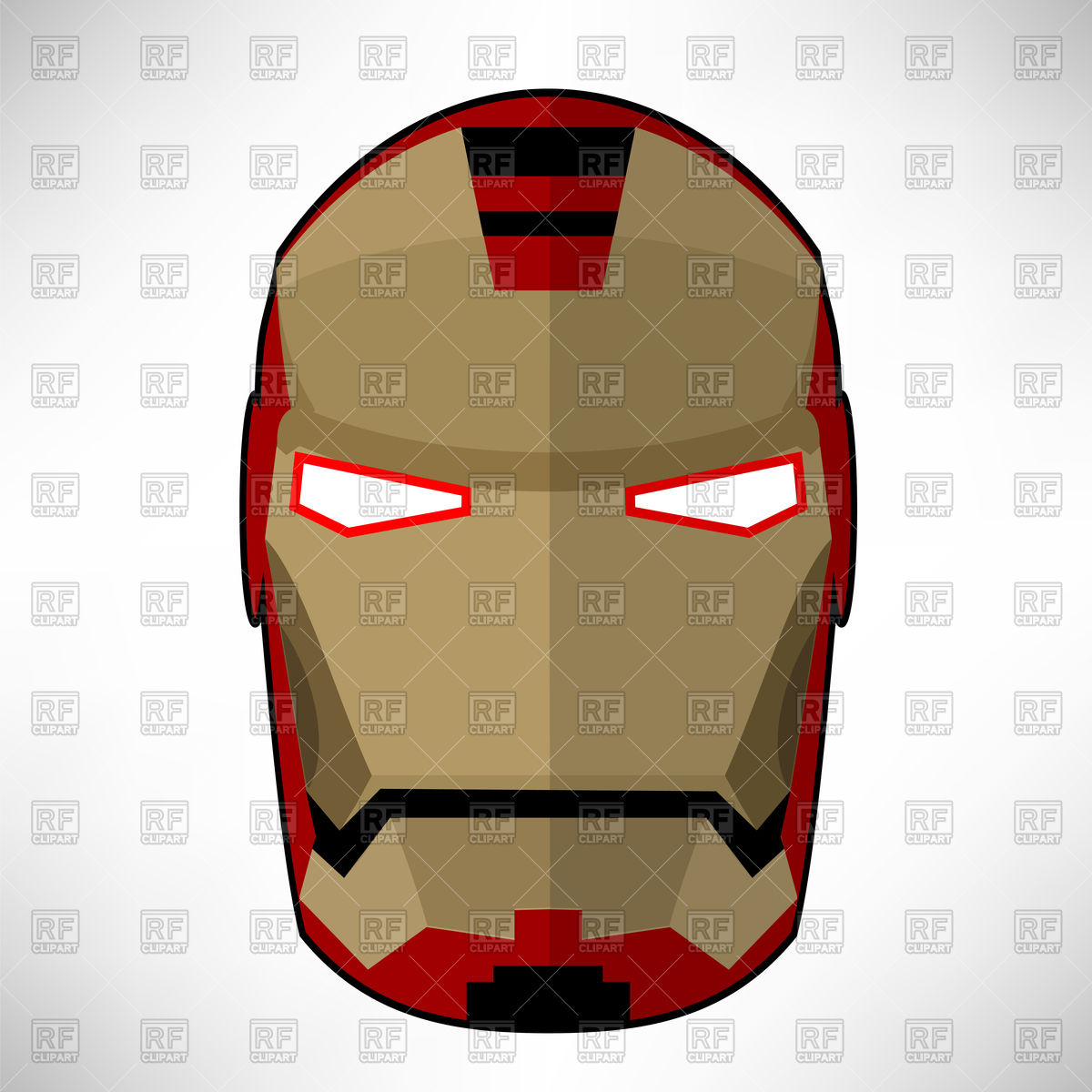 1200x1200 Superhero Mask Royalty Free Vector Clip Art Image