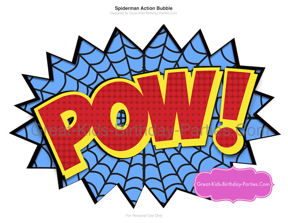 1000x773 Superhero Words Superhero Printables Clipart 4