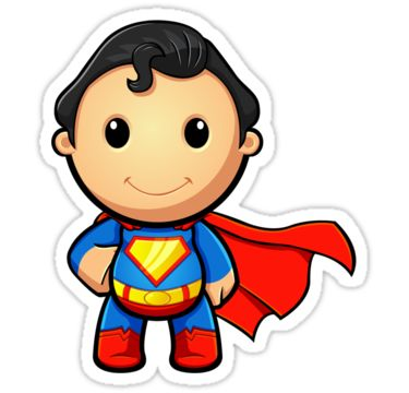 Superman Cartoon Clipart