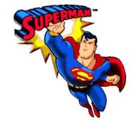 261x252 Free Superman Cartoon Clipart Clipart Panda