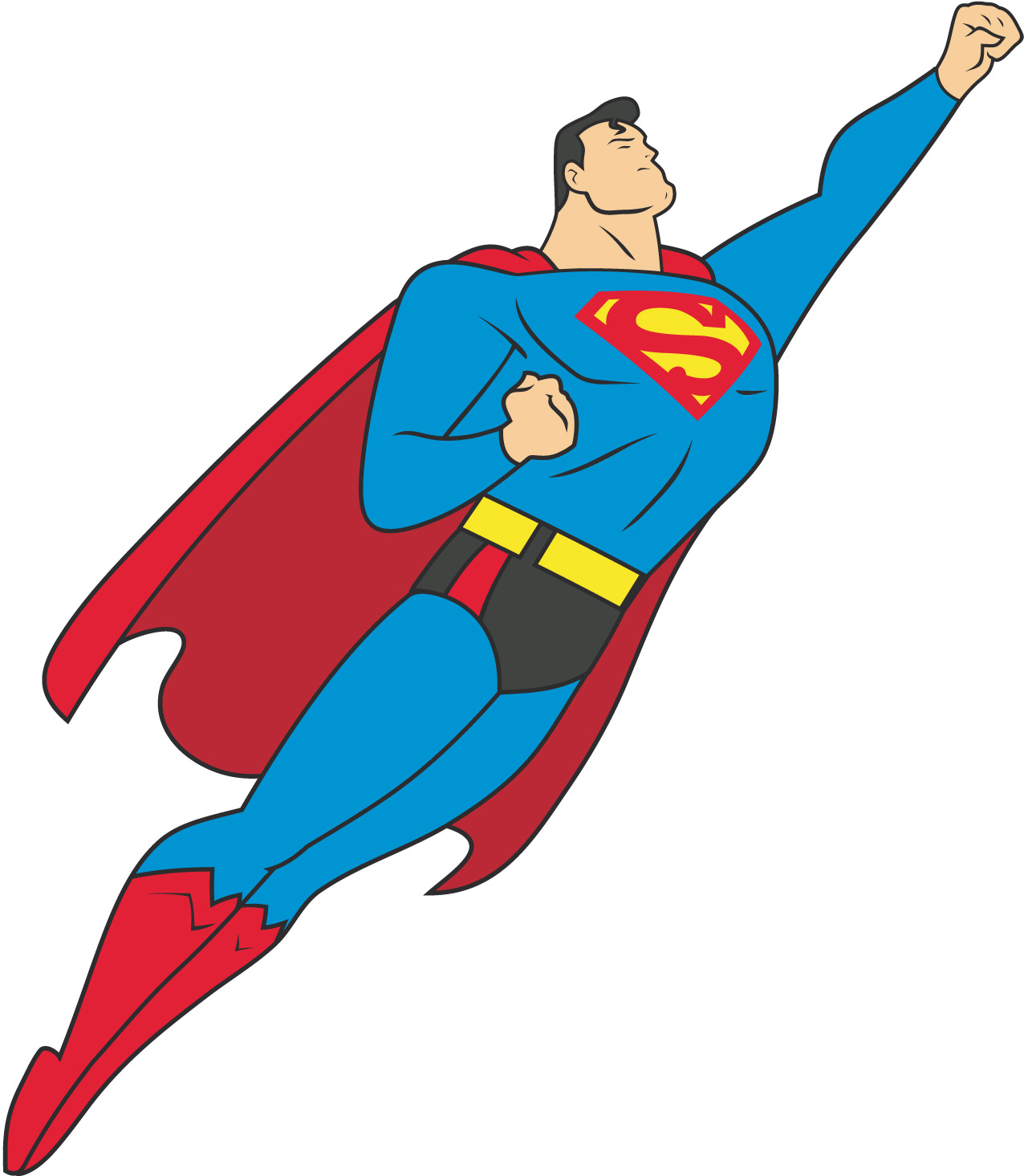 1276x1465 Superman Clip Art Image For Android