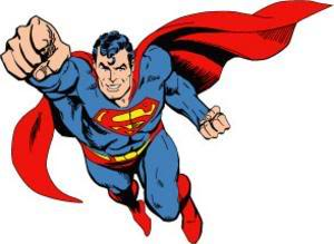 300x219 Superman Flying Clipart Free Clip Art Images