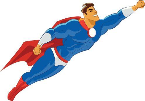 496x346 Luxury Superman Clip Art