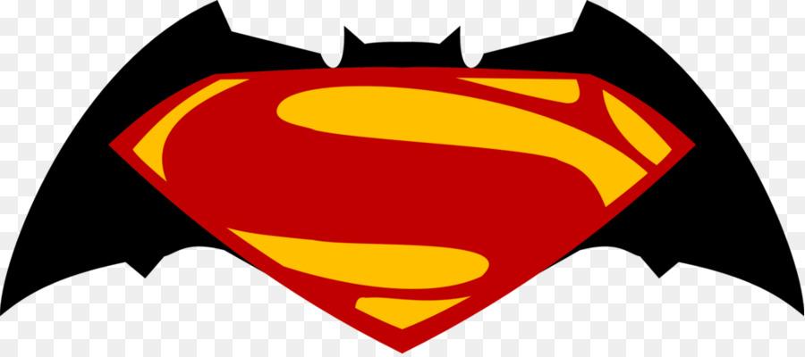 900x400 Batman Superman Logo Clip Art