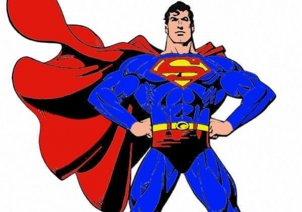 600x421 Superman Logo Clip Art