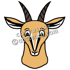 300x300 Top 88 Gazelle Clip Art
