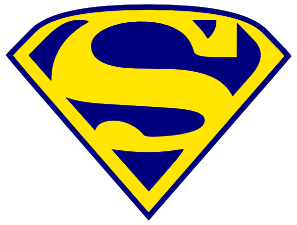 600x455 Superman Logo Clipart Superman Logo Clip Art Clipart Panda Free
