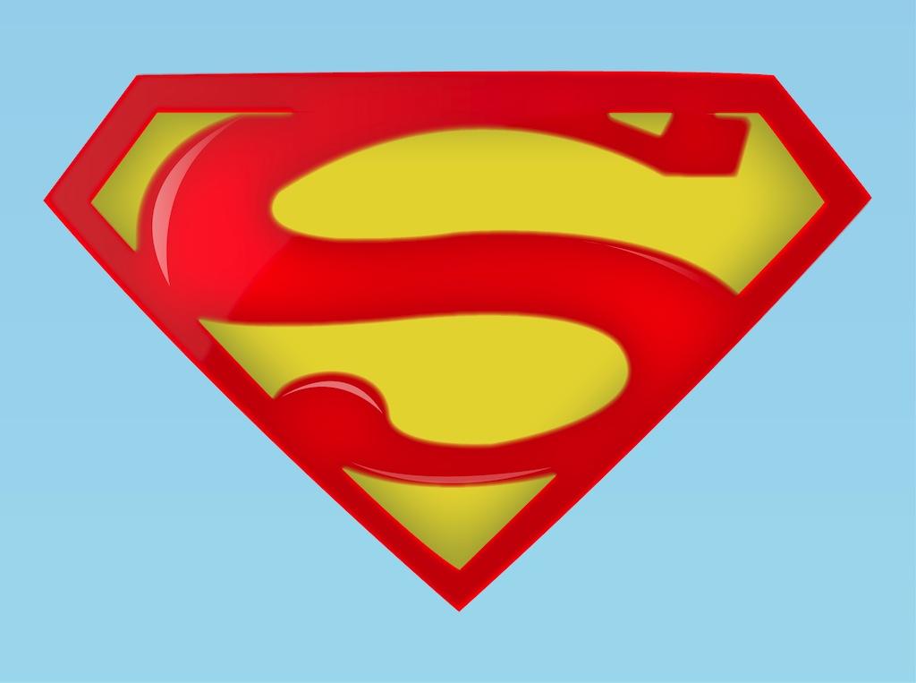 1024x763 Superman Logo Clip Art Free Clipart Panda