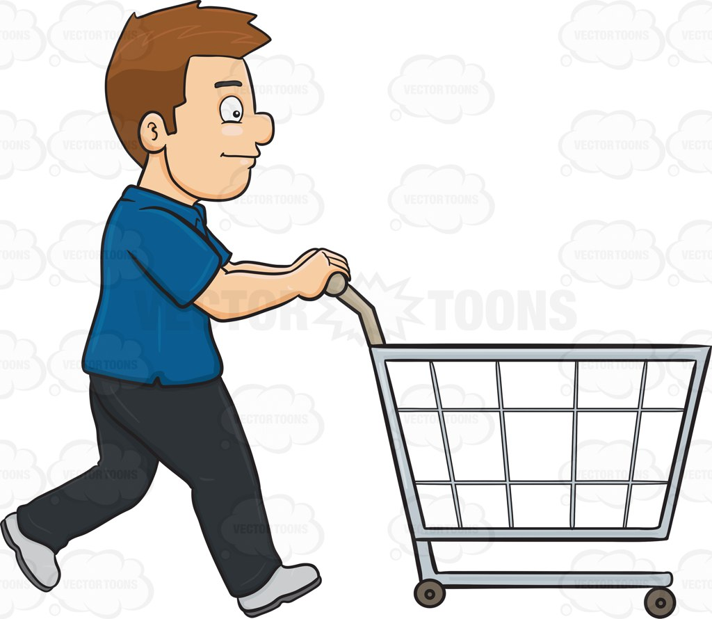 1024x890 Shopping Trolley Clipart Man Amp Shopping Trolley Clip Art Man