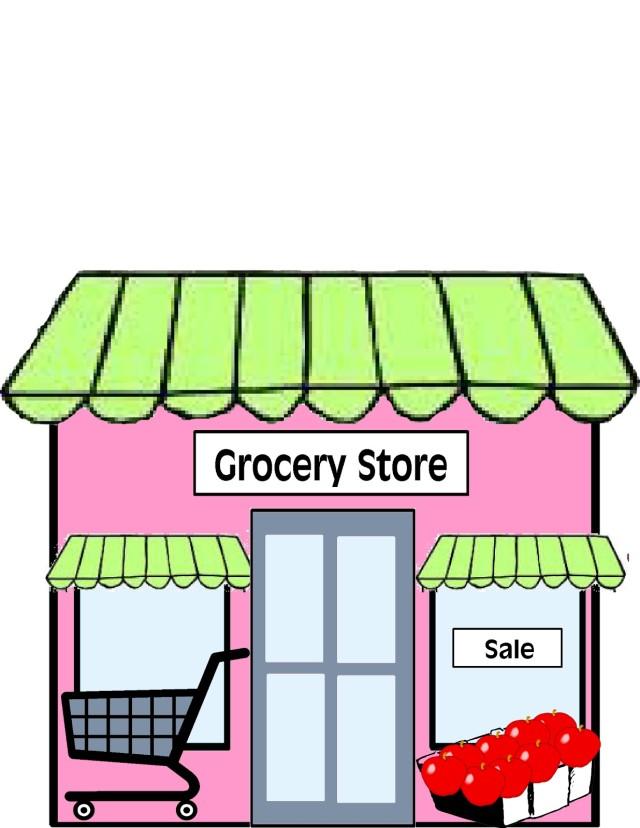 640x828 Building Clip Art Free Download Supermarket Building Clipart 1