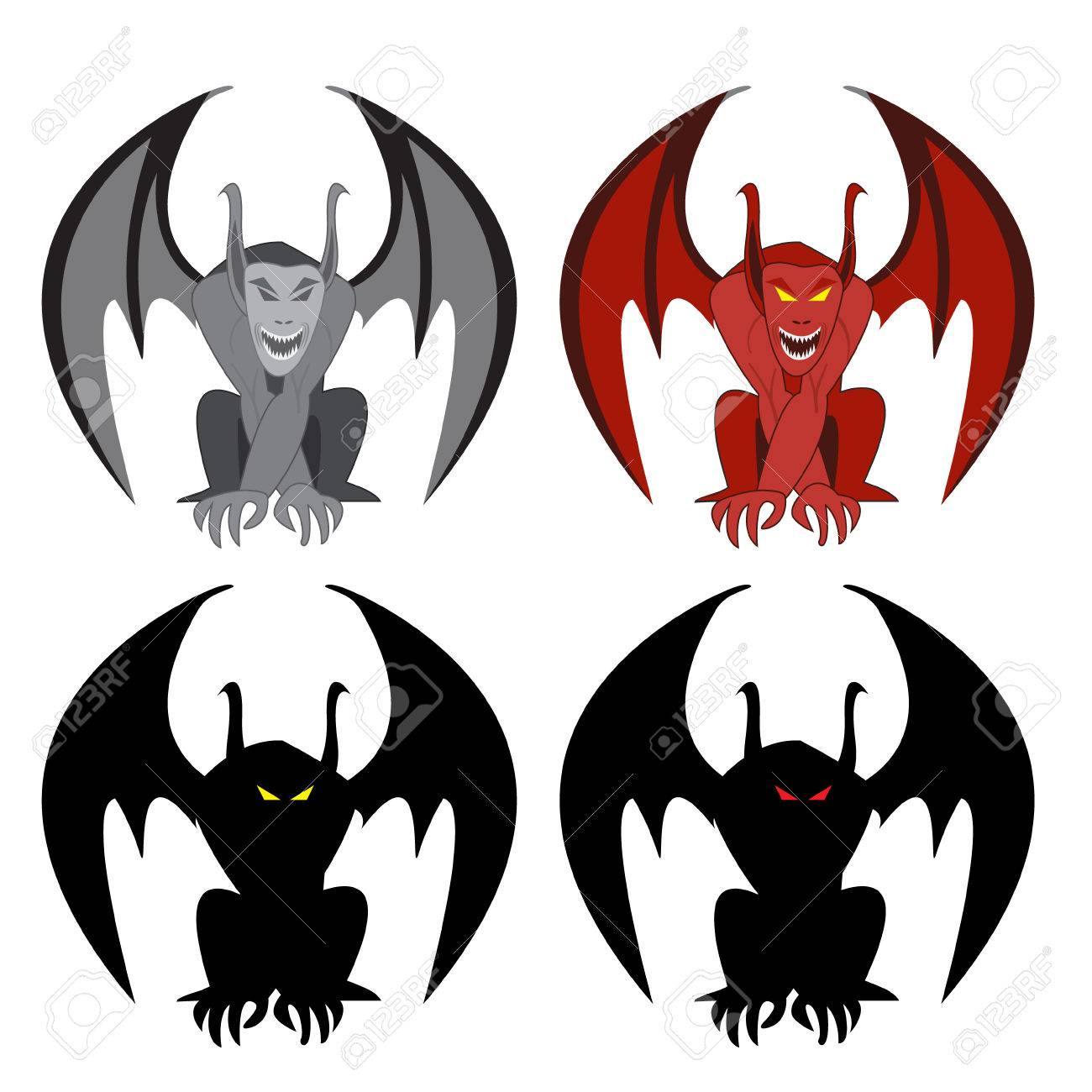 1300x1300 Demon Clipart supernatural symbol