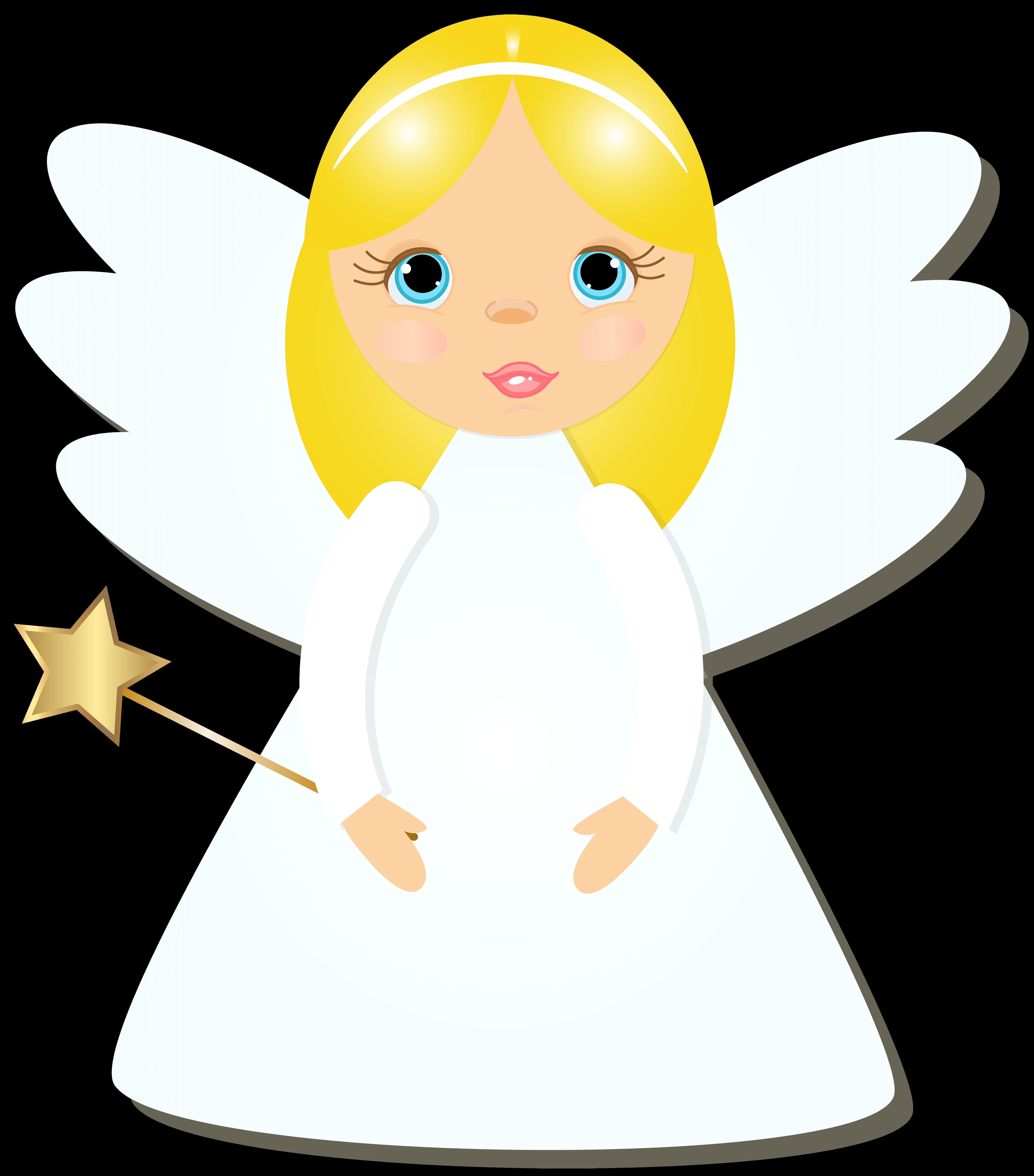 7031x8000 Transparent Angel Cliparts