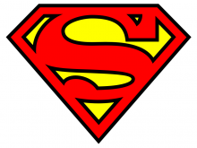 220x165 Vector Superman Logo Superman Supergirl Superwoman Free Vector