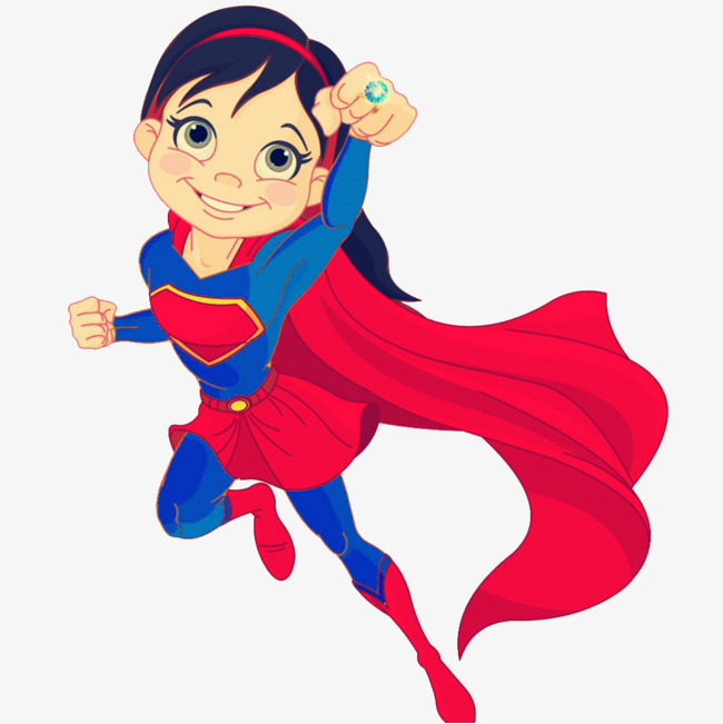 650x651 Cartoon Superwoman, Vector, Superman, Female Png Image And Clipart