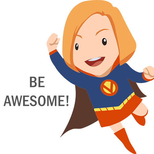 500x500 10 Super Woman Vector Characters Free Download