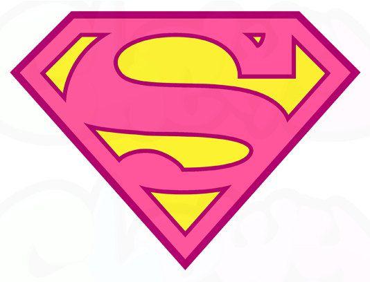 534x408 Supergirl Logo Printable Il 570xn 50400 Supergirl Kids Birthday