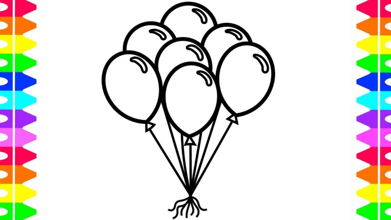 1280x720 Balloons Coloring Acpra