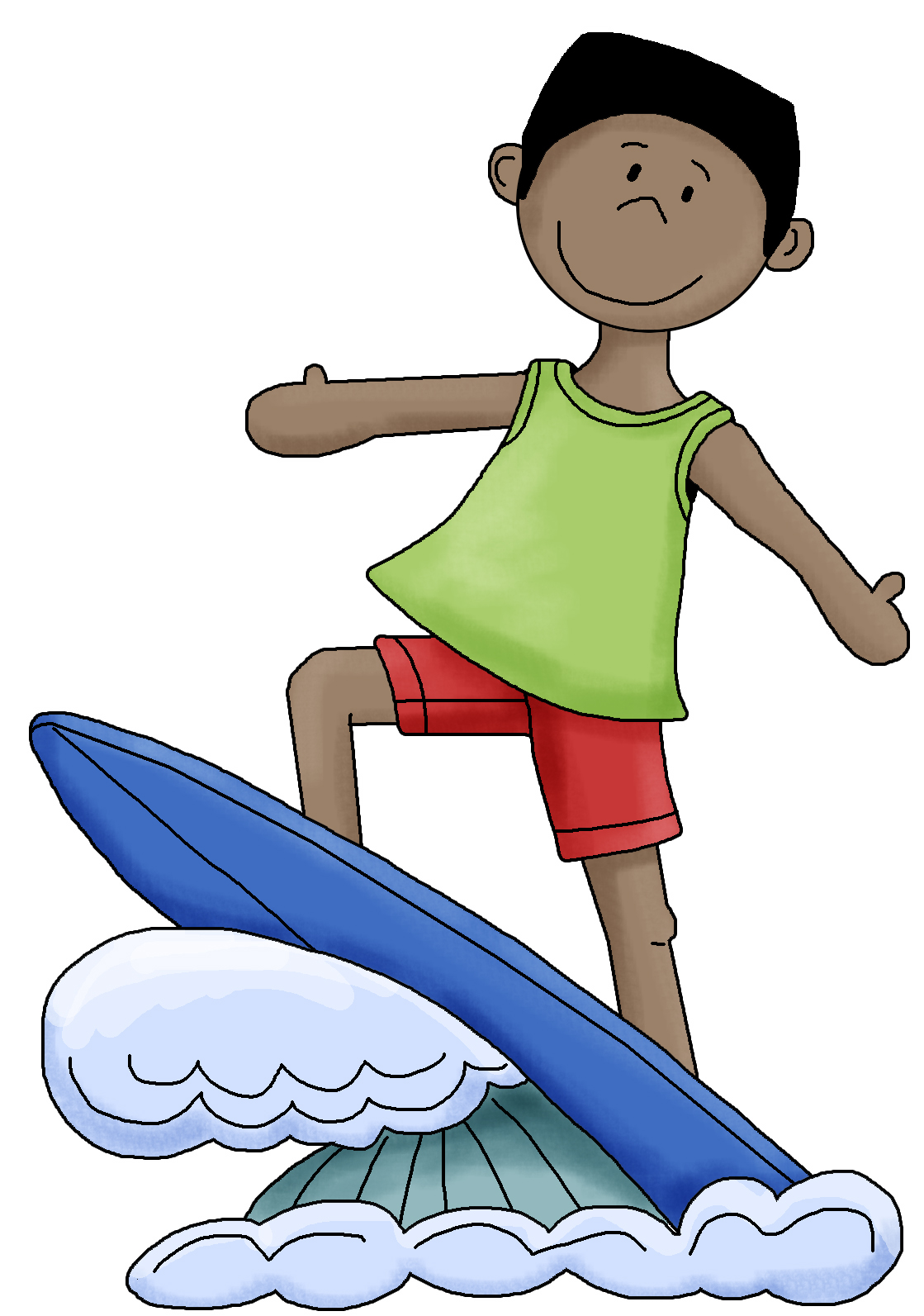1119x1593 Surf Cliparts