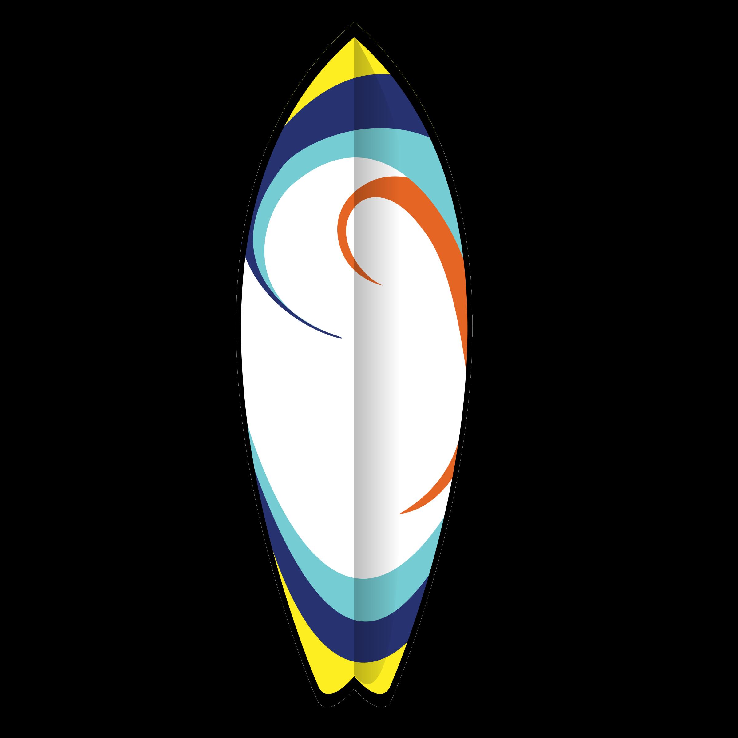 2400x2400 Surfboard Clip Art Free Clipart Panda