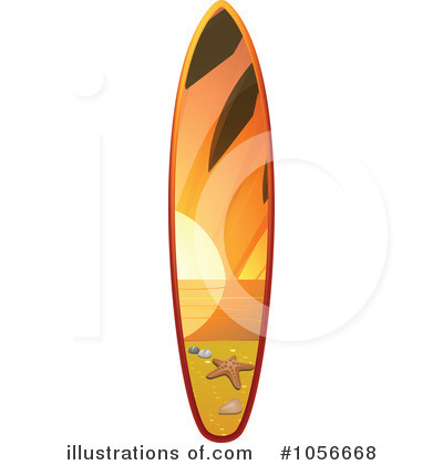 400x420 Surfboard Clipart