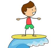 195x166 Top 77 Surfing Clip Art