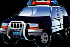 299x201 Police Car Clip Art