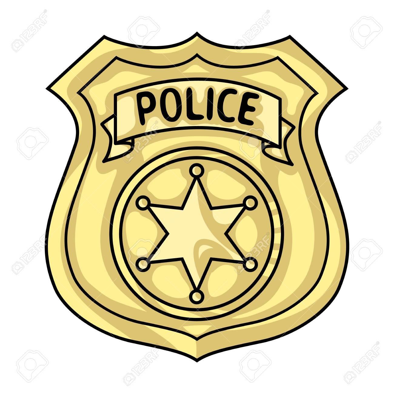 1300x1300 Police Officer Badge Clip Art