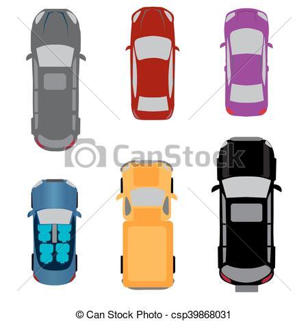 450x470 Set Of Six Vehicles. Coupe, Convertible, Sedan, Wagon, Suv