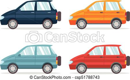 450x275 Suv Car,set Of Crossover Vehicles In A Variety Of Eps Vector