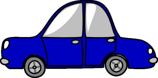 600x299 Blue Car Clipart Small Car