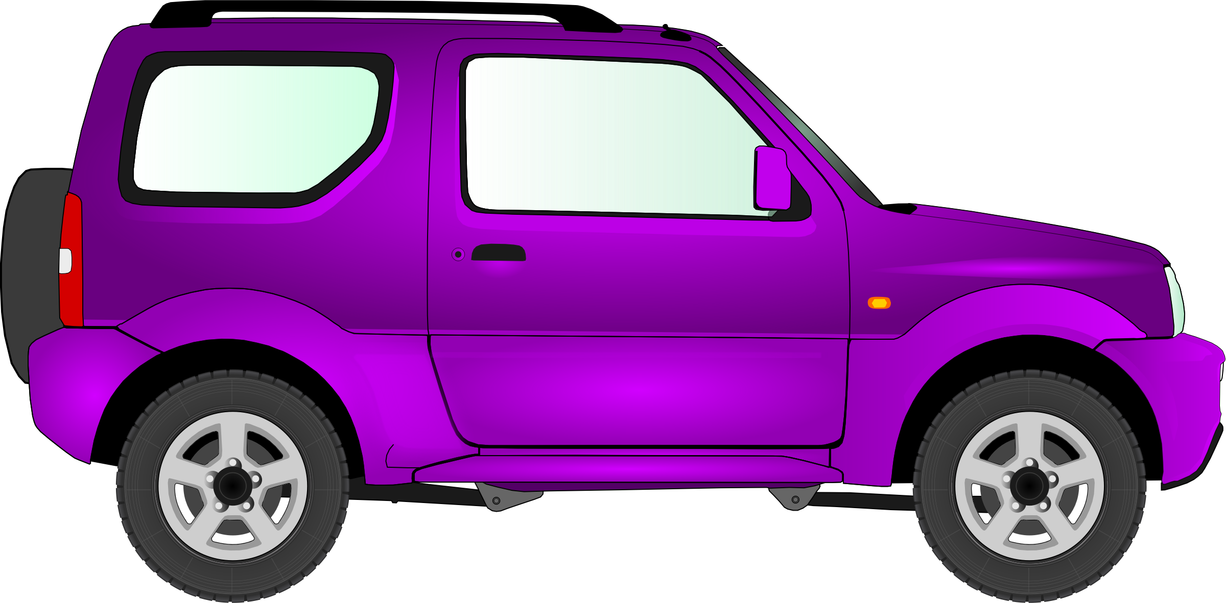 2400x1182 Car 15 (Purple) Icons Png