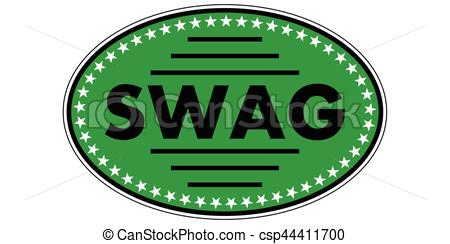 450x244 Green Sticker Swag, A Sticker With The Text Swag To The Vector