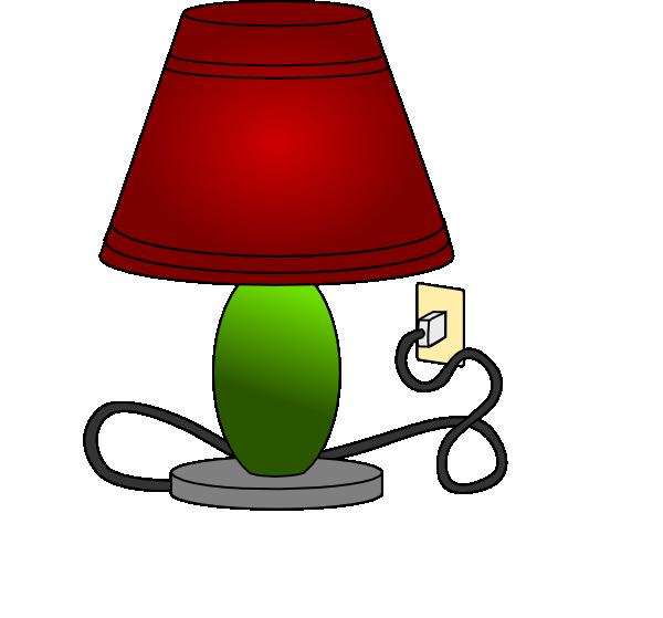 600x559 Lamp Table Lamp Light Clip Art