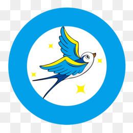 260x260 Swallow Logo Clip Art