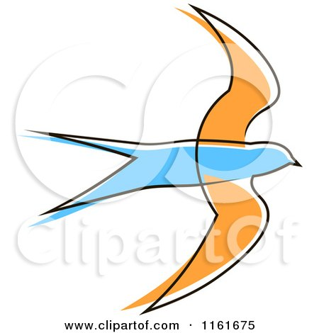 450x470 Swallow Clipart Simple