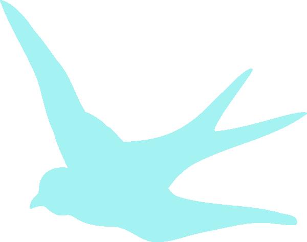 600x473 Blue Swallow Clip Art