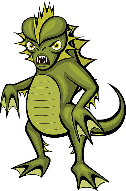 404x612 Collection Of Swamp Monster Clipart High Quality, Free