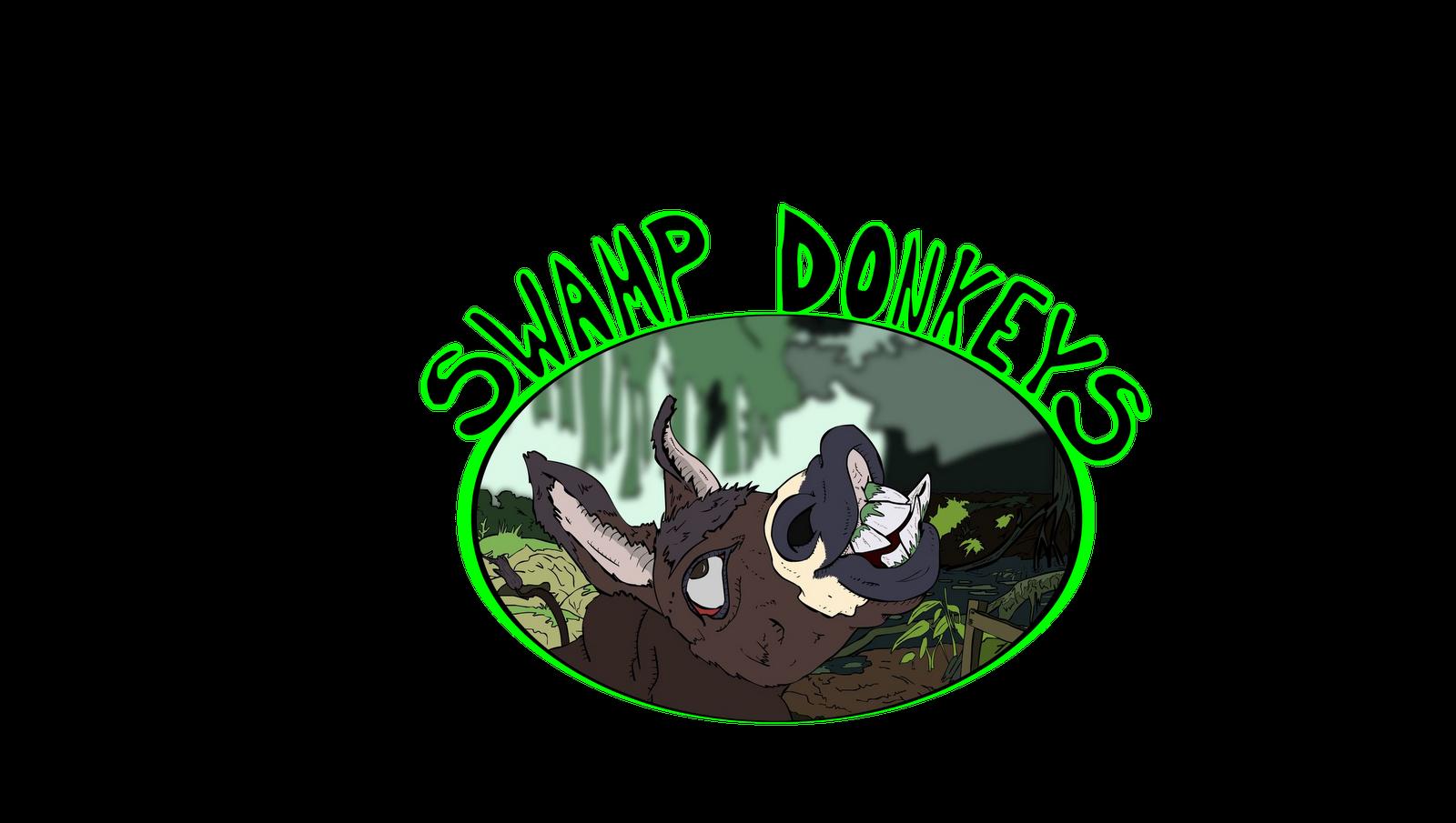 1600x905 Swamp Donkeys Graphic Logo Design Witmart