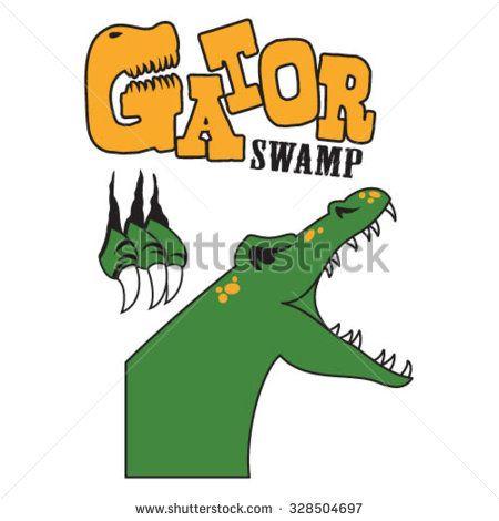 450x470 Deluxe Swamp Clip Art Gator