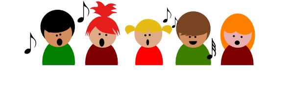 600x191 Children Singing Christmas Clip Art Children Choir3 Clip Art