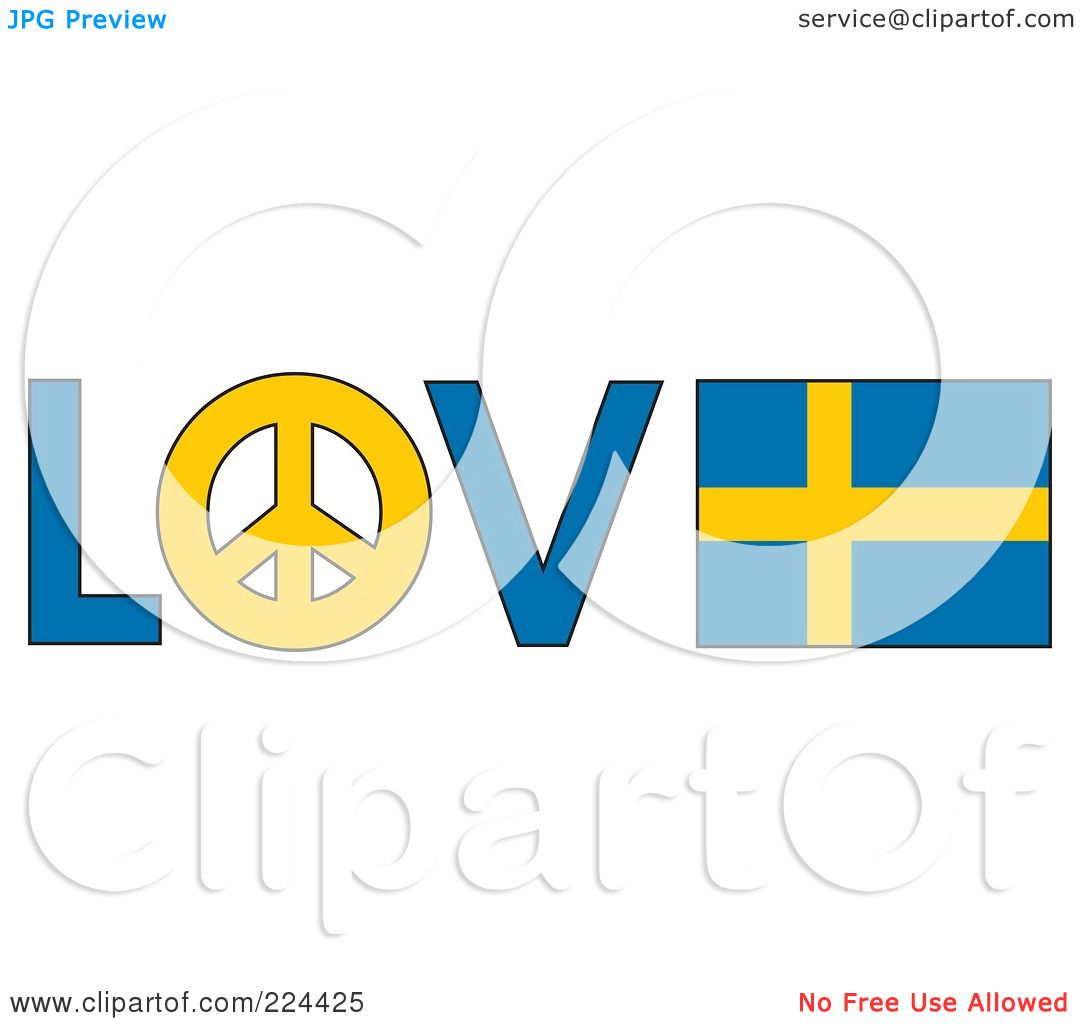 1080x1024 Royalty Free (Rf) Clipart Illustration Of The Word Love