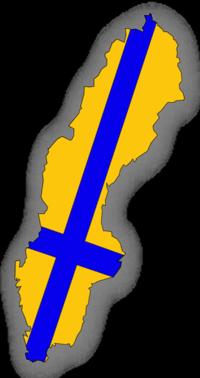 200x378 Sweden Flag Clip Art