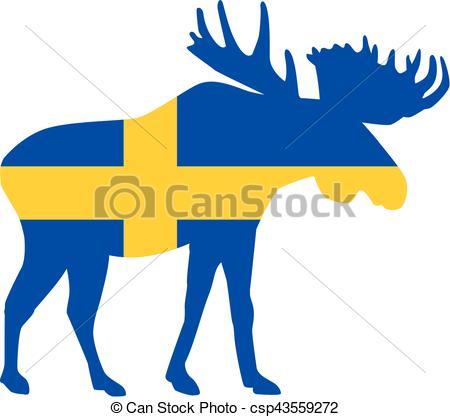 450x417 Sweden Elch.