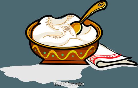 480x306 Swedish Julgrot, Christmas Porridge Royalty Free Vector Clip Art