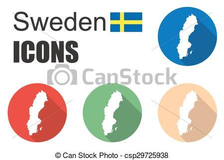 450x322 This Is Set Sweden Icons Vectors